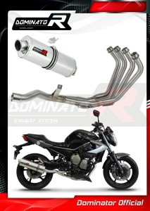 XJ6 N / S / F 600 Diversion Exhaust Tłumik FULL SYSTEM OVAL 2009 - 2016
