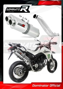 XT 660 R Exhaust Tłumik OVAL 2004 - 2014