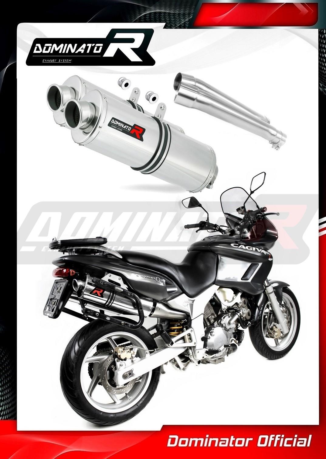 OVAL DB KILLER Dominator Exhaust SUZUKI GSF 1250 BANDIT 07-14