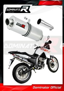 Terra Adventure 125 Exhaust Tłumik OVAL 2008 - 2015