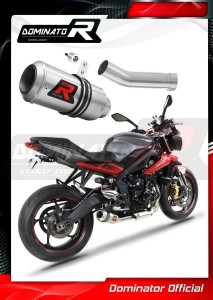 Street Triple R 675 Exhaust Tłumik GP 2013 - 2016