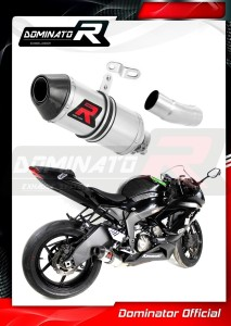 ZX6R ZX636 Exhaust Tłumik LOW LEVEL HP3 2009 - 2016