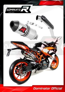 RC 390 Exhaust Tłumik HP3 HI LEVEL 2017 - 2018