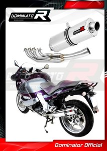 K1200RS Exhaust FULL SYSTEM Tłumik OVAL 1997 - 2000