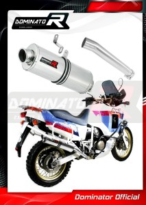 XRV 750 AFRICA TWIN RD04 Exhaust Tłumik OVAL 1990 - 1992