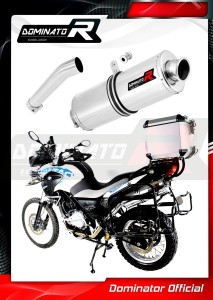 G650GS Exhaust Tłumik OVAL 2011 - 2018