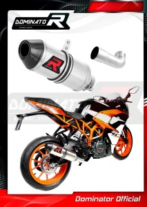 RC 390 Exhaust Tłumik HP3 2017 - 2018
