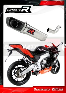 RS4 125 Exhaust Tłumik HP4 2012 - 2017