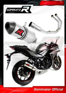 YZF-R3 300 Exhaust Tłumik FULL SYSTEM HP3 2015 - 2017