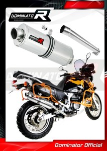 XRV 750 AFRICA TWIN RD07A Exhaust Tłumik OVAL 1996 - 2003