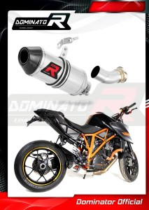 1290 SUPER DUKE Exhaust Tłumik LOW LEVEL HP3 2014 - 2016