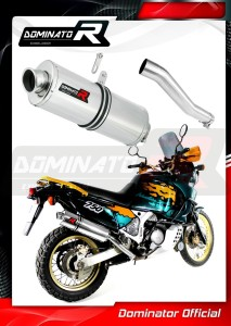 XRV 750 AFRICA TWIN RD07 Exhaust Tłumik OVAL 1993 - 1995