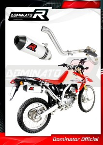CRF 250 L Exhaust MX FULL SYSTEM Kolano z PowerBomb 2012 - 2016