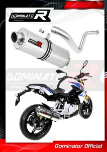G 310 R Exhaust Tłumik OVAL 2016 - 2018