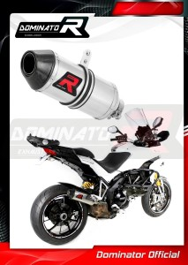 MULTISTRADA 1200 Exhaust Tłumik HP3 2010 - 2014