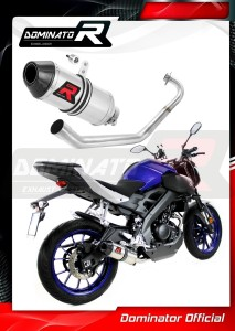 MT-125 Exhaust Tłumik FULL SYSTEM HP3 2014 - 2019