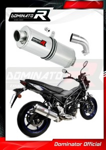 SV 650 Exhaust Tłumik OVAL 2016 - 2020