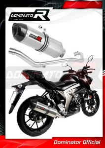 GSX-S 125 Exhaust Tłumik HP1 2017 - 2019